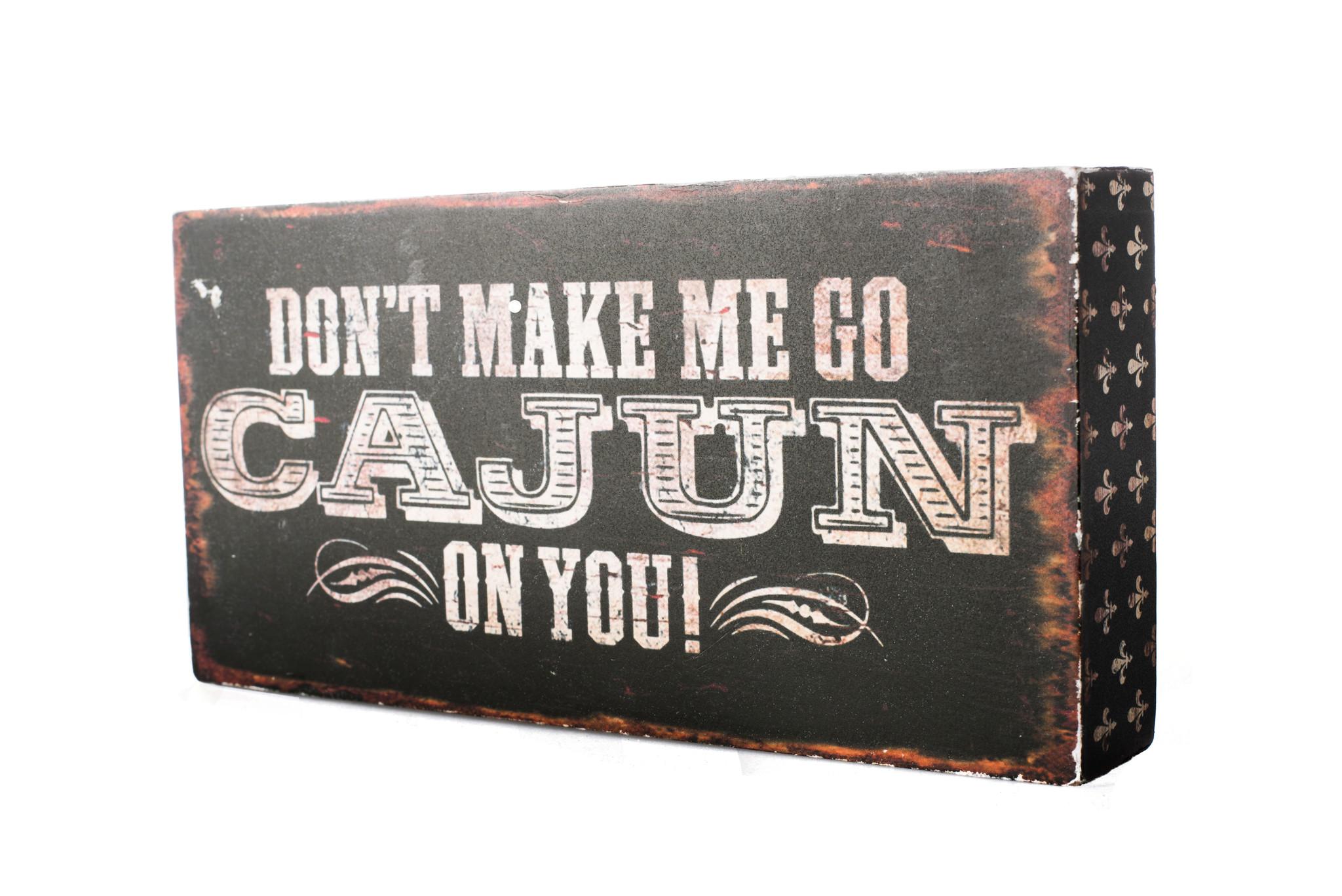 Home, Box Sign, Go Cajun