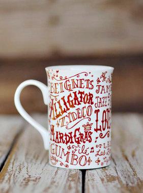 Louisiana Words Mug