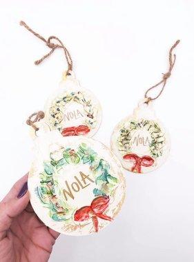 NOLA Wreath Ornament