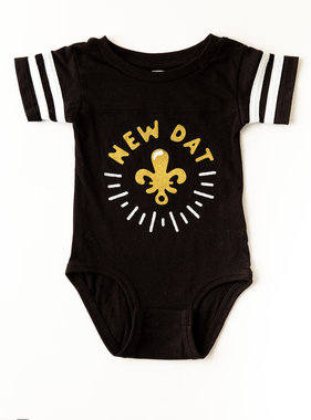 Dirty Coast New Dat Onesie