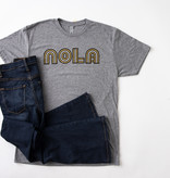 Black & Gold NOLA Tee