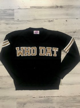 Who Dat Sweater, Black