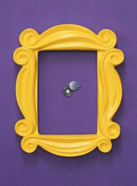 Friends Peephole Frame