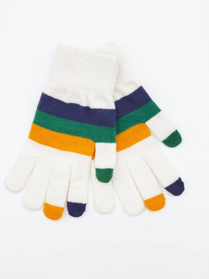 Mardi Gras Texting Gloves
