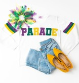 Mardi Gras Parade Sweater