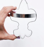 Fleur de Lis Cookie Cutter with Handle