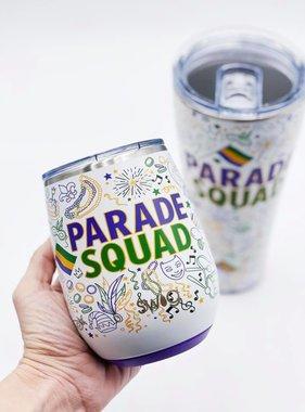 Parade Squad Wine Tumbler, 14oz