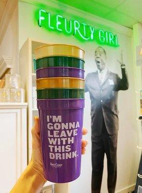 Mardi Gras Go Cups, Set of 6