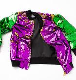 Mardi Gras Sequin Jacket, Kids