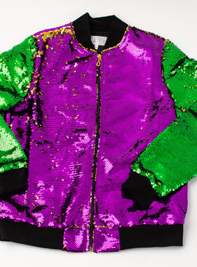 Mardi Gras Magic Sequin Jacket