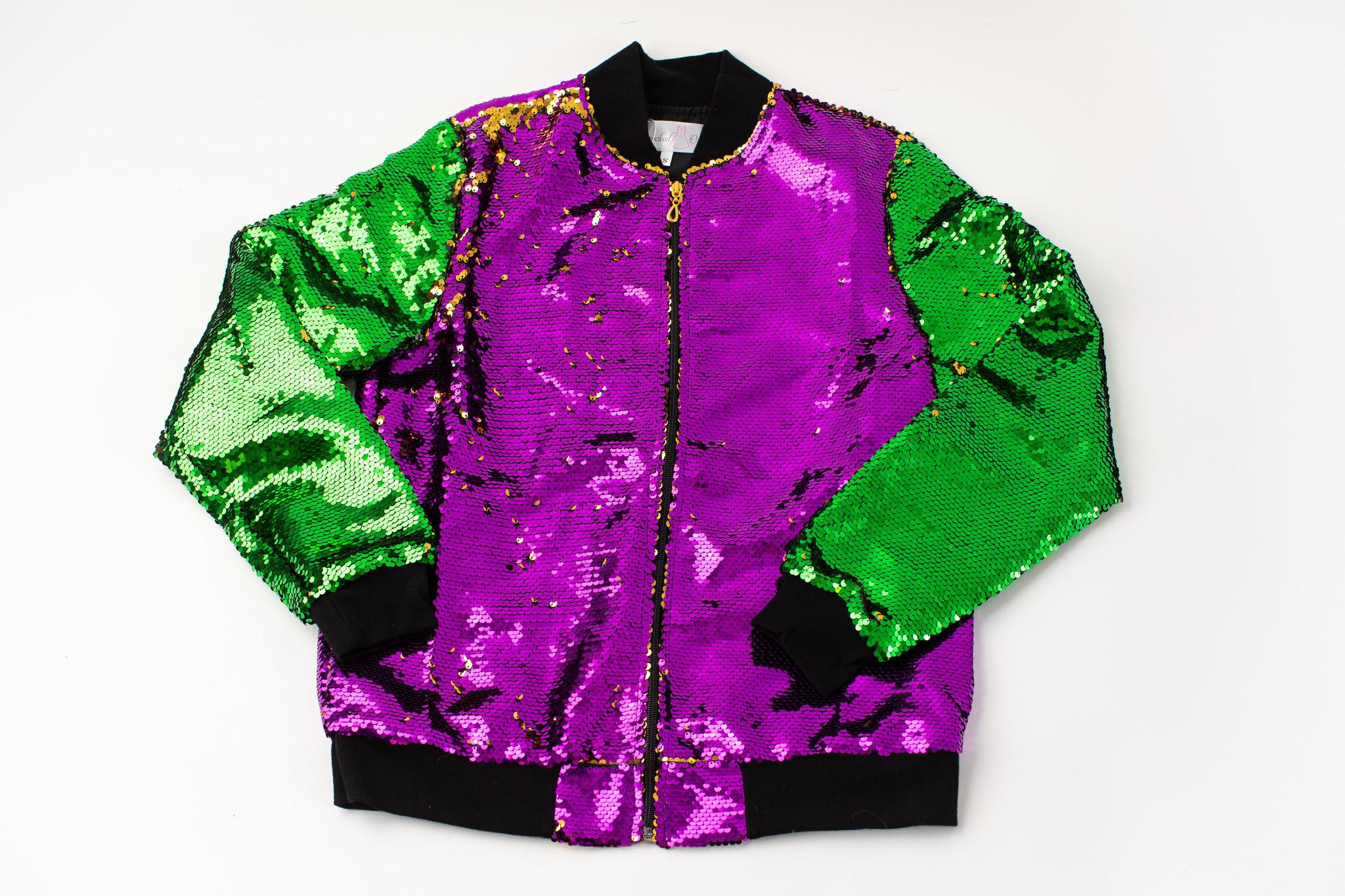 Mardi Gras Magic Sequin Jacket