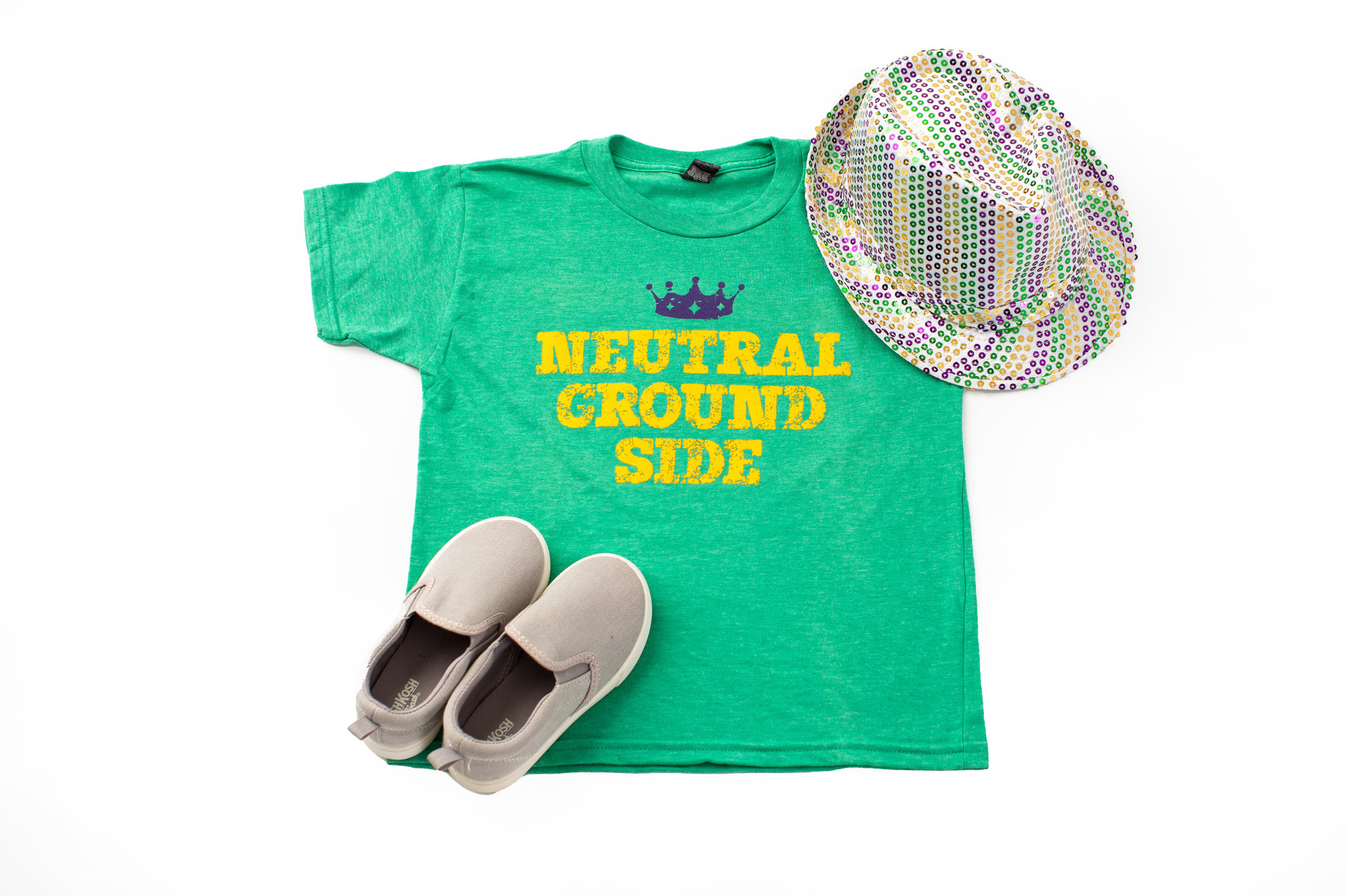 Neutral Ground Side Youth Tee