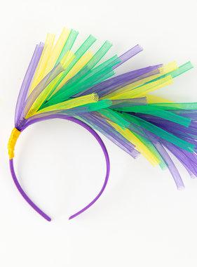 Mardi Gras Springs Headband