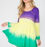 Mardi Gras Tunic Top