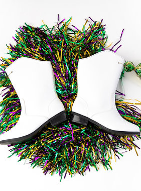 Mardi Gras Marching Boots