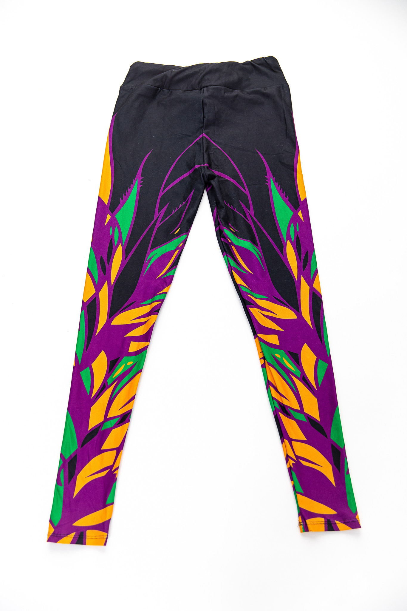 Mardi Gras Wings Leggings