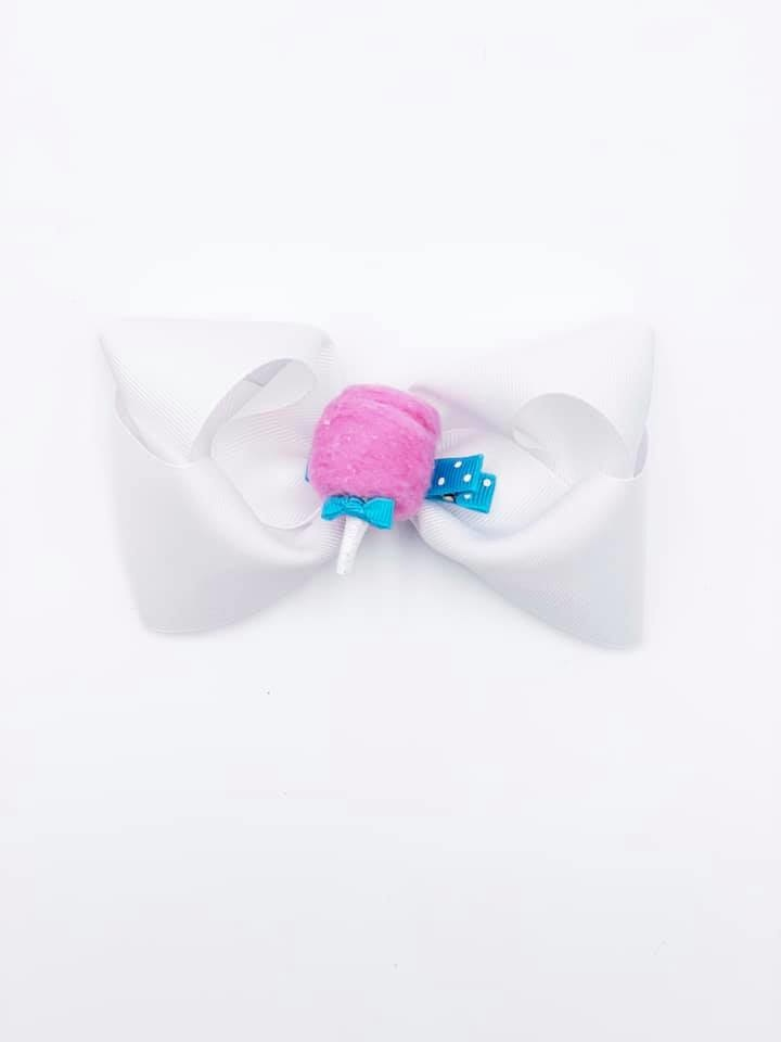 Cotton Candy Hair Bow