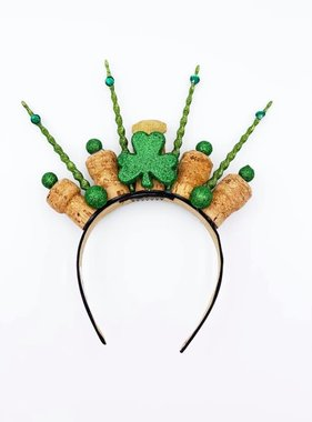 Green Icicle Krowns Headband