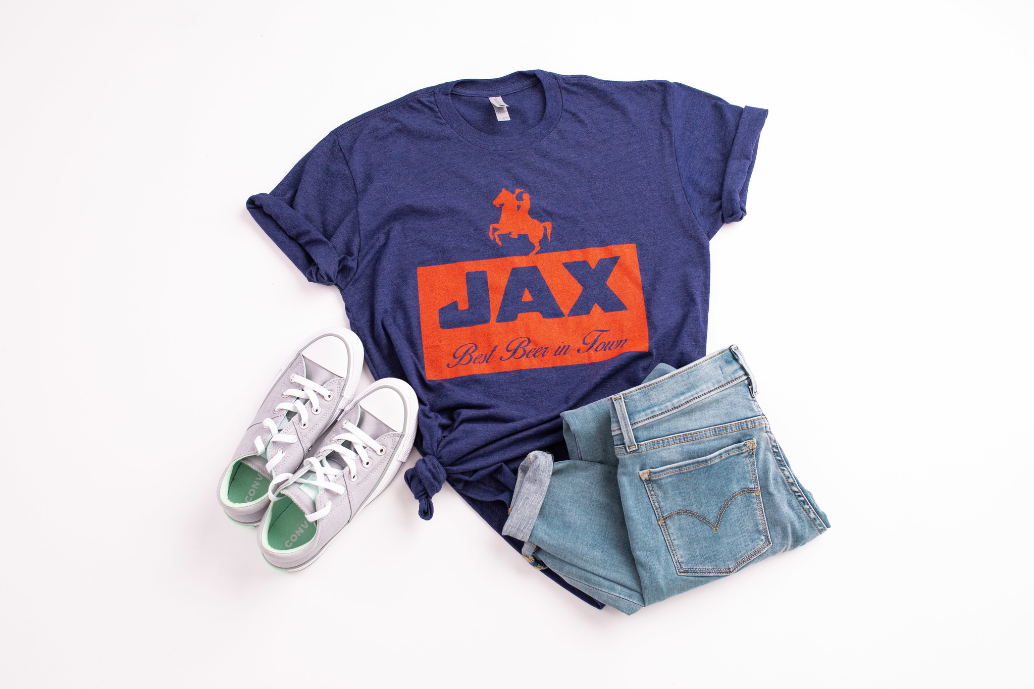 Jax Brewery Throwback Tee