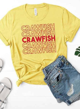 Crawfish Repeat Tee