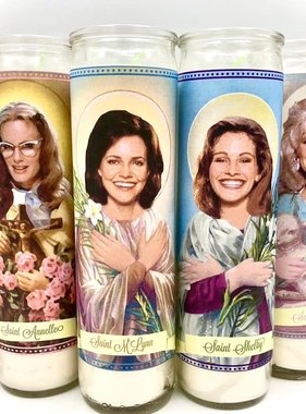 Mose Mary & Me Steel Magnolias Saint Candle