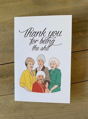Golden Girls Thank You Card