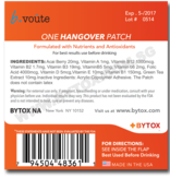 Hangover Remedy Patch