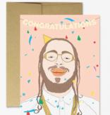 Post Malone Congratulations Card