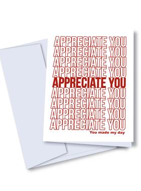 Appreciate You Card