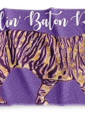 Callin' Baton Rouge Beach Towel