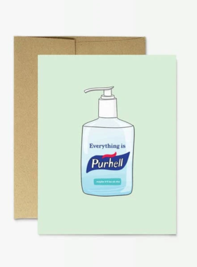 Everything is Purhell Card