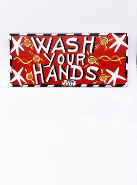 Simon Wash Your Hands Sign