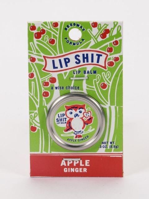 Blue Q Apple Ginger Lip Balm