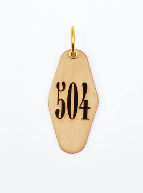 Leather Key Fob, 504