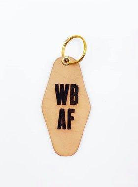 Leather Key Fob, Westbank AF