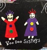 Voodoo Sisters Roof Tile Art