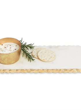 Marble Board and Dip Cup Set