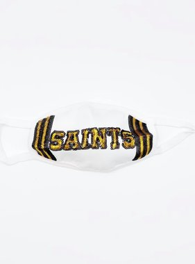 Sparkle City Saints Face Mask