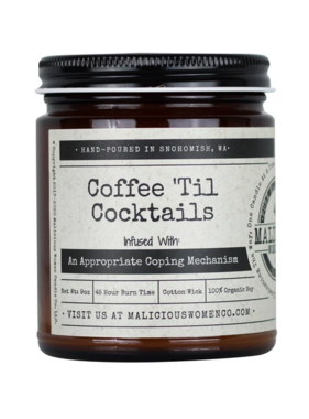 Coffee til Cocktails Candle