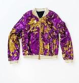 Purple & Gold Magic Sequin Jacket