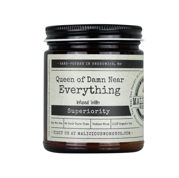 Queen of Everything Candle