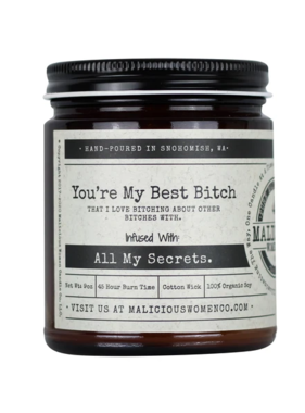 Best Bitch Candle