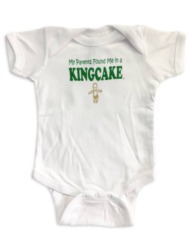 My Parents Found Me In A King Cake Onesie