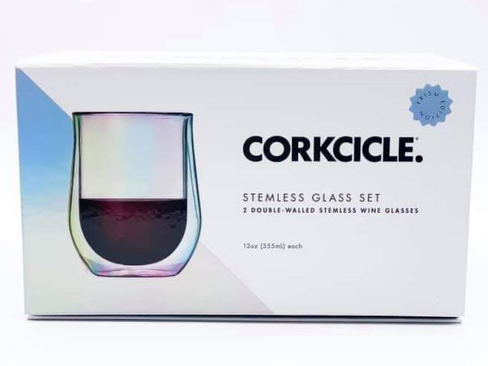 Stemless Glass Set
