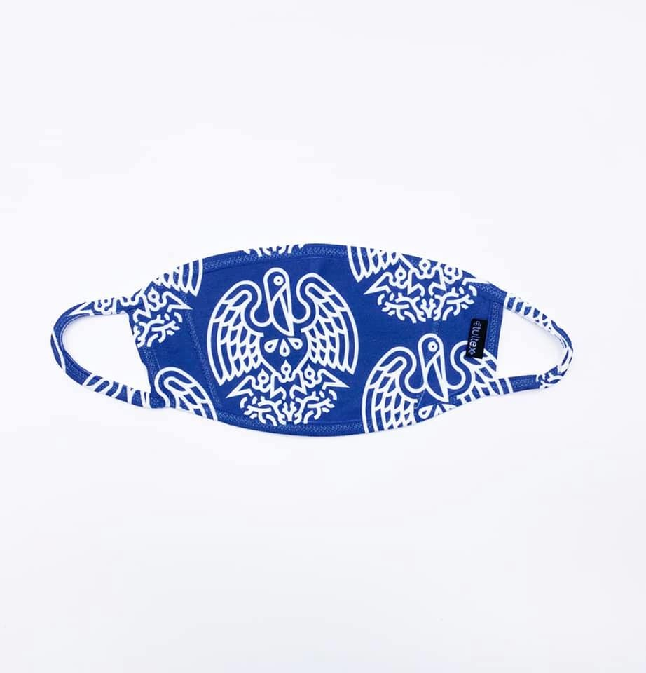 State Seal Icon Face Mask