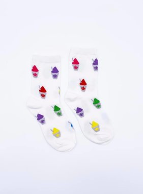White Snoball Sock, Kids