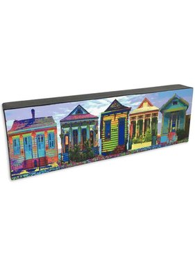 Nola Scenes Wall Art, Shotgun House