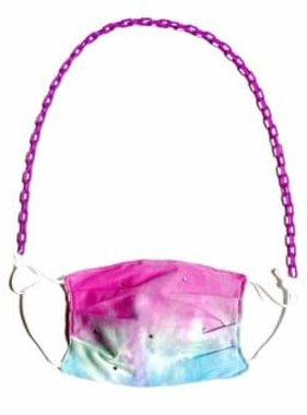 Pink Link Face Mask Chain