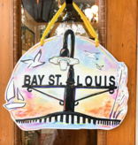 Home Malone zz BSL, Home, Door Hanger, Bay St. Louis Sunset