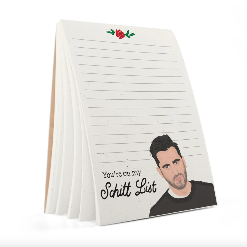 Schitt List Notepad
